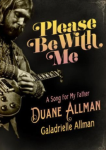 Please Be with Me Book Cover, Duane Allman 's Daughter's Story About His Life