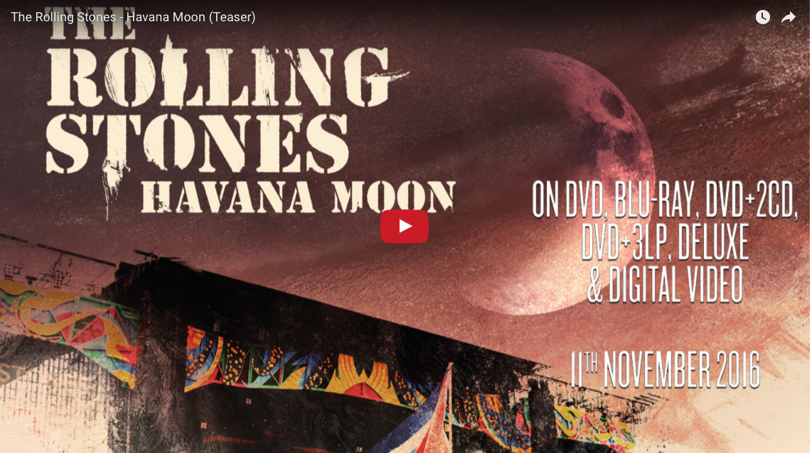 Rolling Stones Rock-Out with first Cuban Concert
