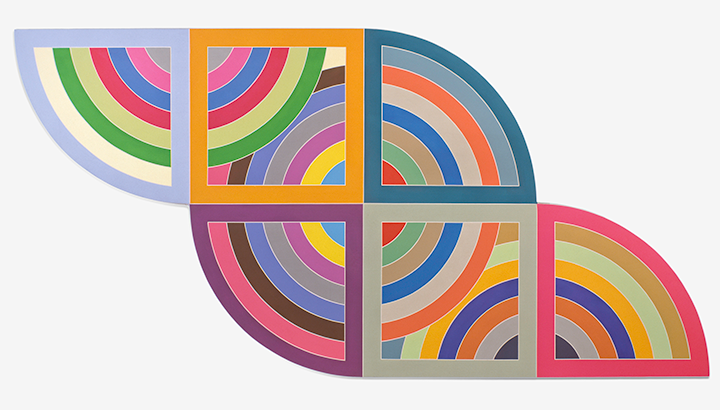 Review of Frank Stella's retrospective at Whitney Museum NYC