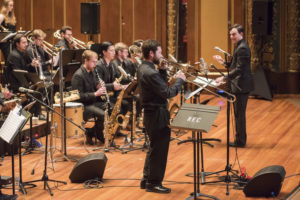 Boston NEC Jazz Orchestra composer Darcy James Argue Bob Brookmeyer