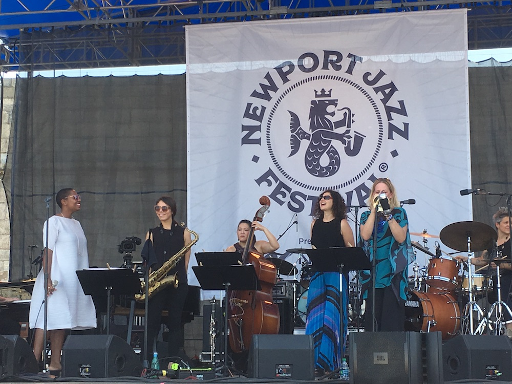 2018 Newport Jazz Festival Showcases Women Artists and Emerging Talents