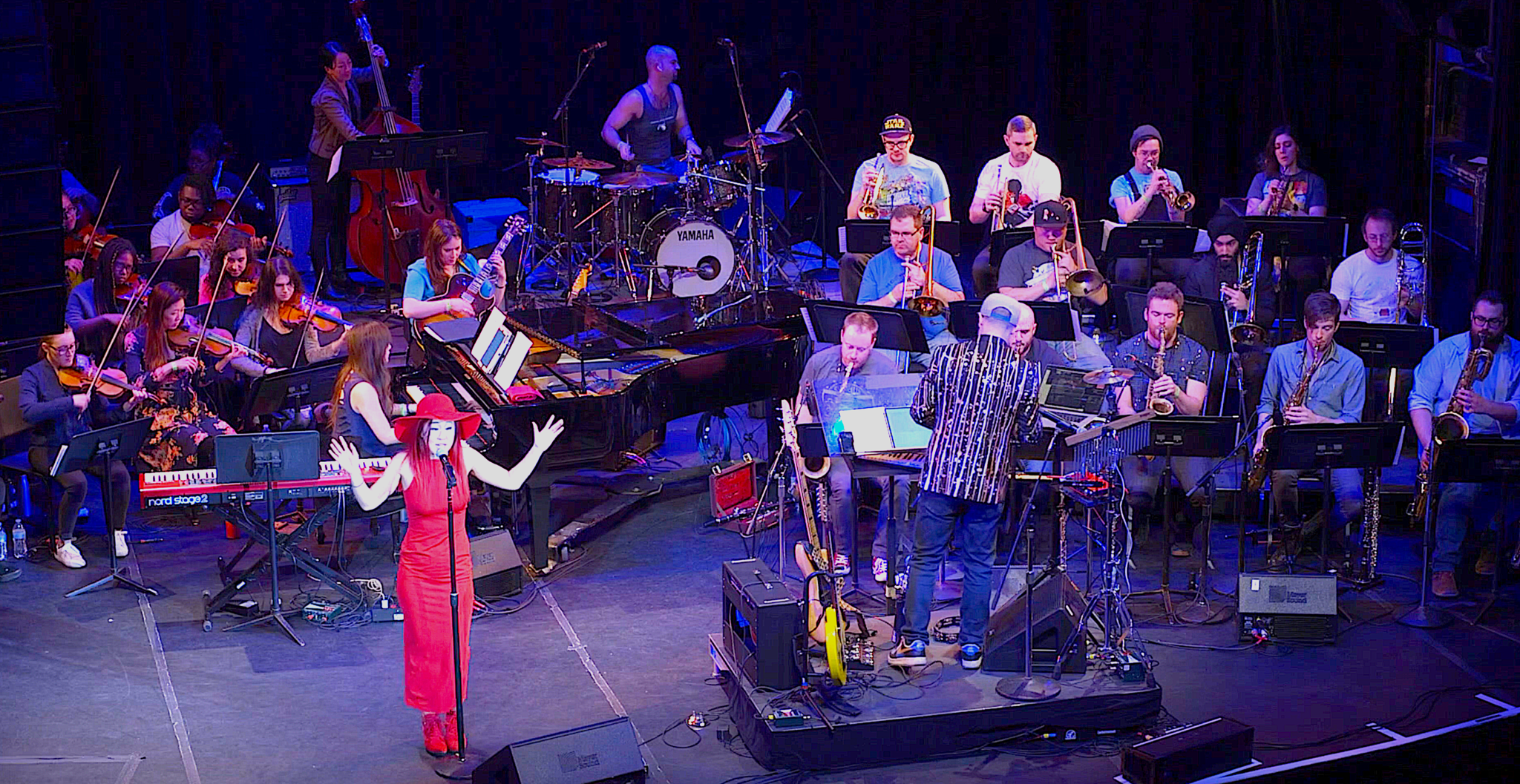 Charlie Rosen's 8-Bit Big Band with special guest Grace Kelly merges video game themes with Jazz Orchestra!!!